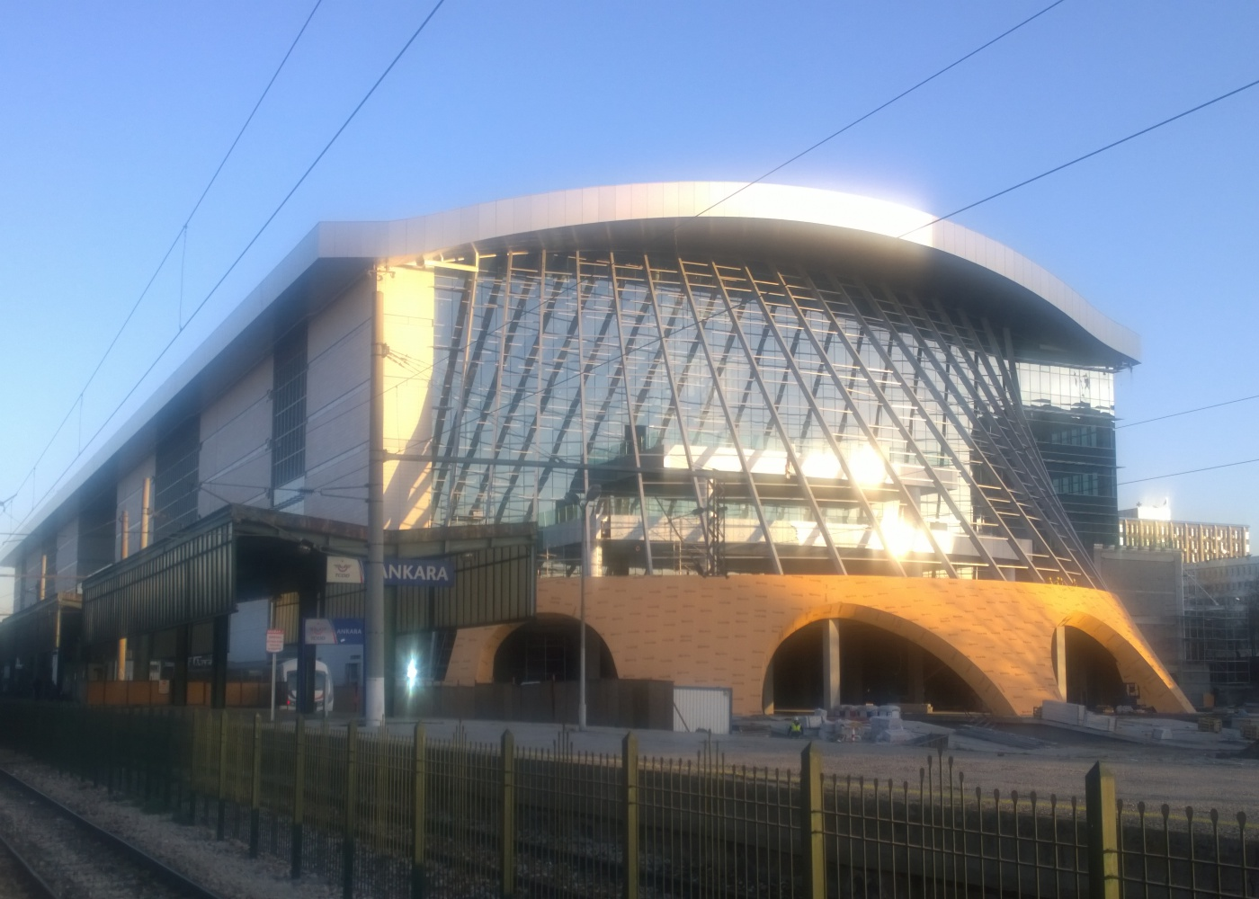 Ankara high speed train station