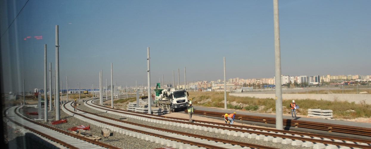 demiryolu çalışmaları