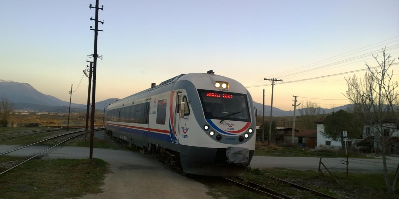 Denizli İzmir treni