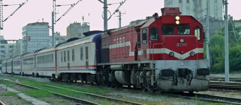 İskenderun Mersin treni - Muhammet Burak Demir