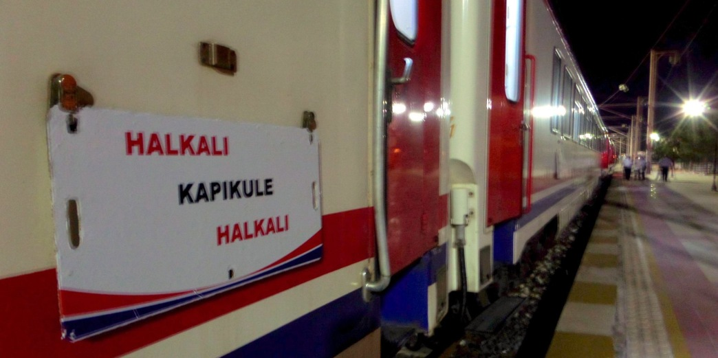 Halkali Kapikule train