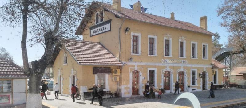 Karaman istasyonu - Serkan Kızılok