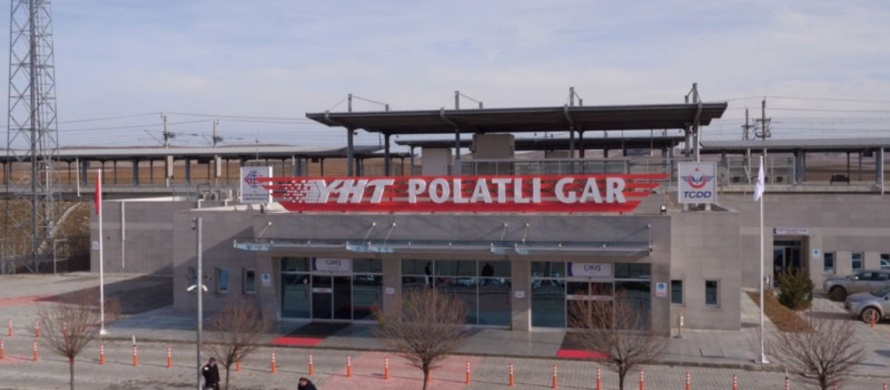Polatli high speed train station