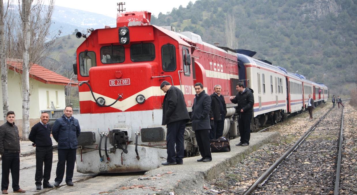 Samsun Sivas Treni