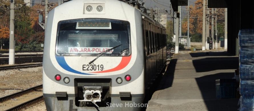 Sincan Polatli train