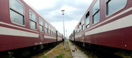 Bucharest train - Koen
