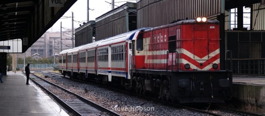 Marsandiz Kirikkale train