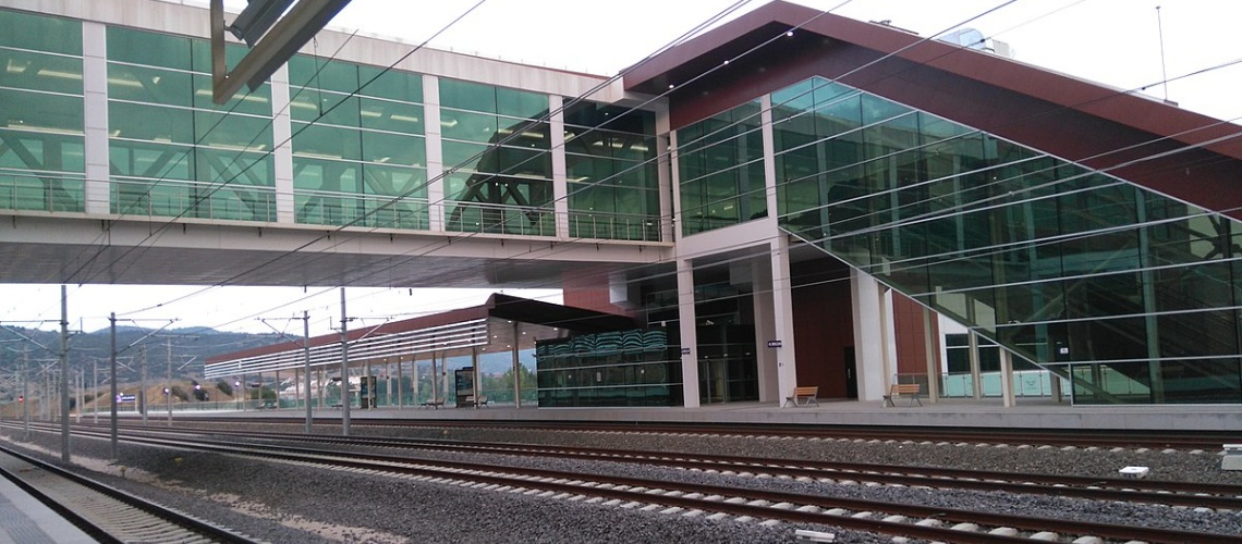 Bilecik high speed train station
