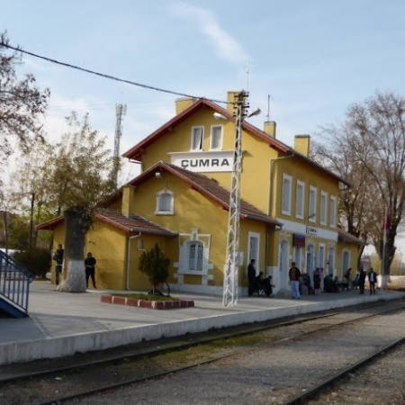 Çumra istasyonu - Wikimedia