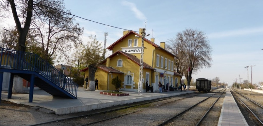 Cumra train station