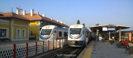 Adana tren istasyonu - Jeff