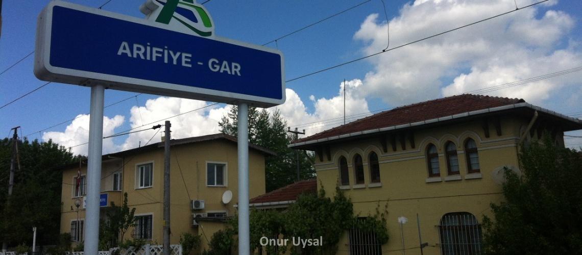 Arifiye high speed train station