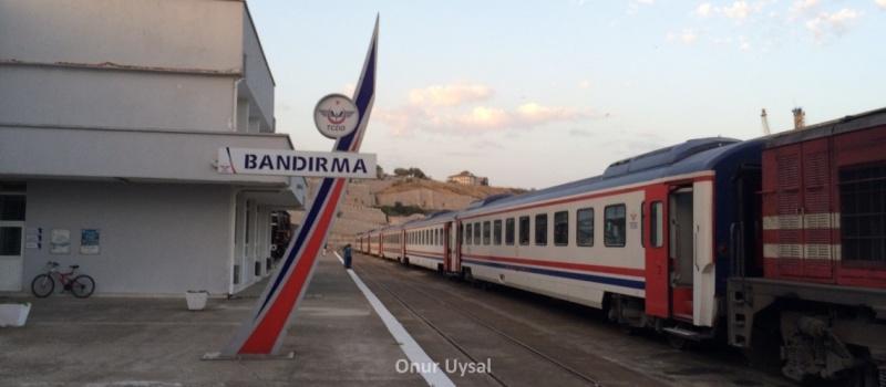 Bandırma tren istasyonu - Onur
