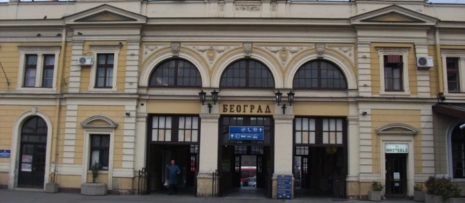 Belgrad tren istasyonu - Gamze Uysal