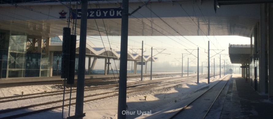 Bozuyuk high speed train station