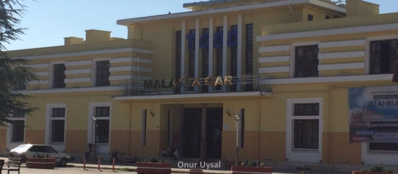 Malatya tren istasyonu - Senem