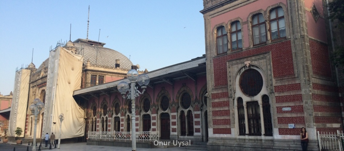 Sirkeci train station
