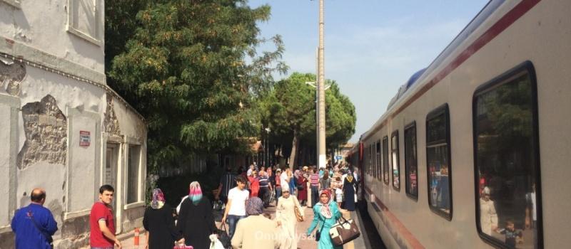 Soma tren istasyonu - Onur