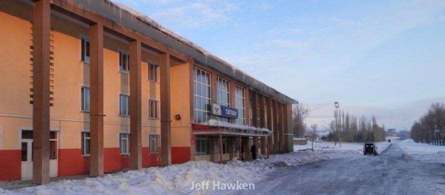 Tatvan train station