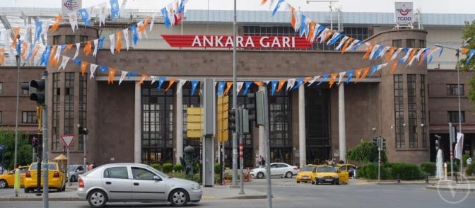 Yataklı trenler yeniden Ankara'da