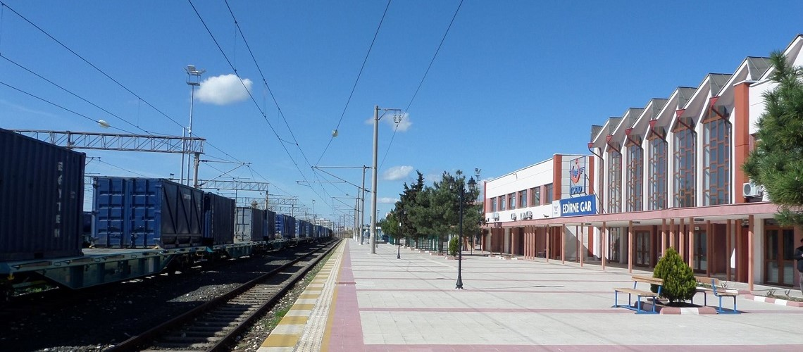Edirne train station