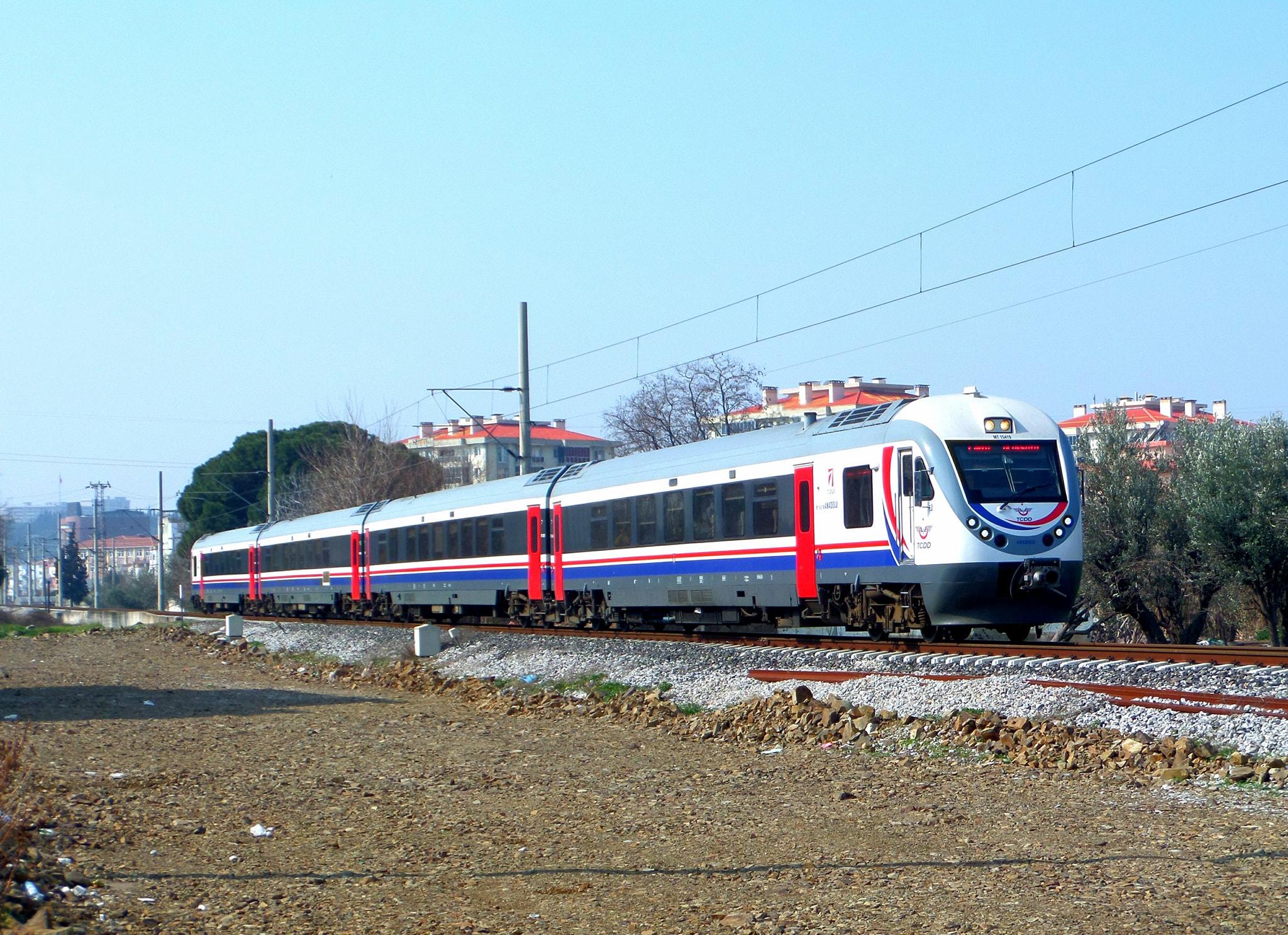 İzmir Alaşehir treni