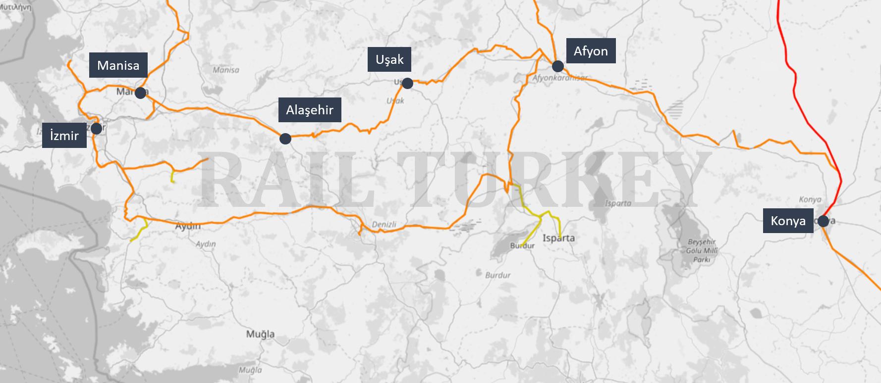 Konya Mavi route