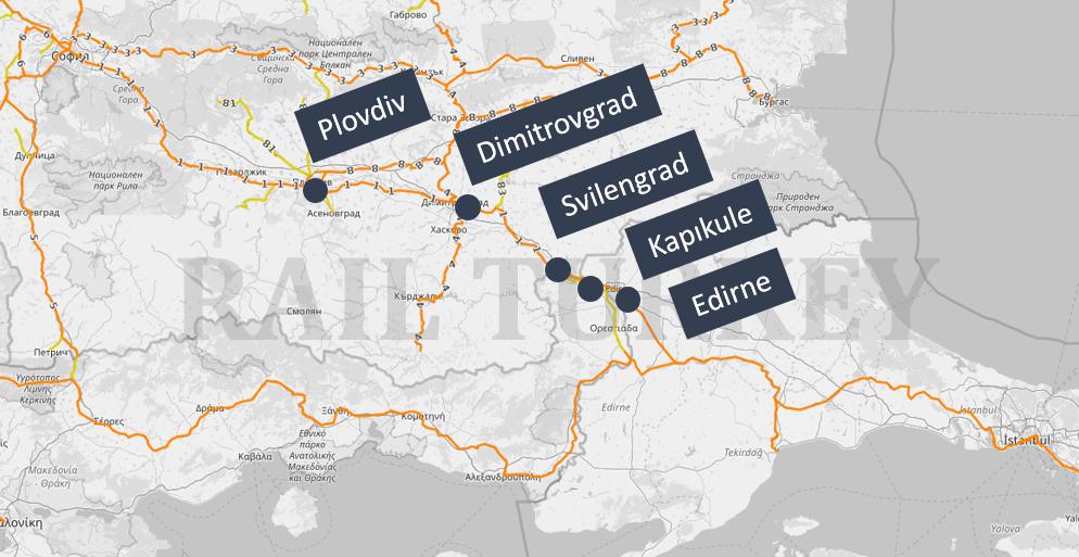 Filibe Edirne treni güzergahı